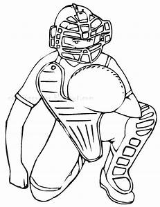 Baseball Coloring Pages