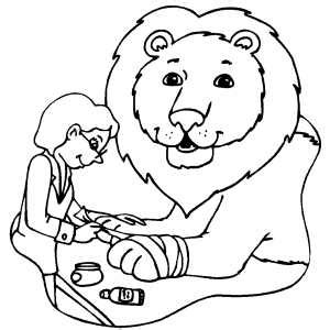 vet coloring pages goodmorningwishes