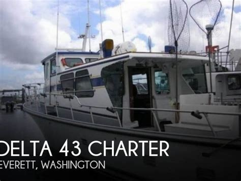 Delta Fishing Boats For Sale by Delta 43 Charter In Florida Power Boats Used 75310 Inautia