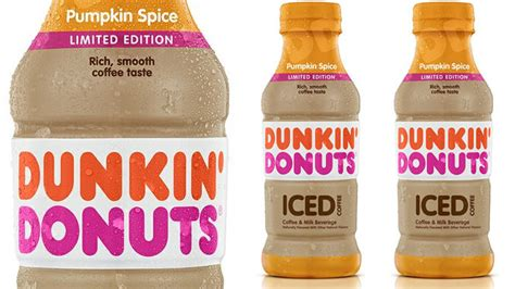 Dunkin' Donuts Pops The Lid On New Bottled Pumpkin Spice Folgers Coffee Walmart Canada Types French Press & Tea Makers 8 Cup Lyrics Indian Rosewood Trunk Table Best 2017 Refill Pack Are Bad For You