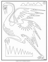 Coloring Emu Ray Elvera Aboriginal Ga Til Colouring sketch template