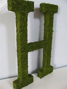 moss covered letters now i can do that pinterest With moss letters