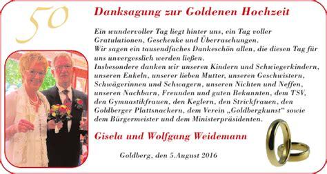 danksagung danke zeitung fuer luebz goldberg plau