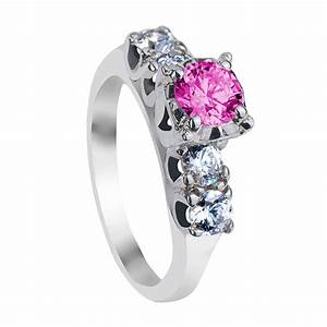 Pink diamond engagement rings simply the best when one for Princess cut pink diamond wedding rings