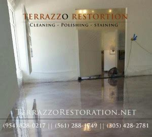 Terrazzo Restoration Specialists in Palm Beach