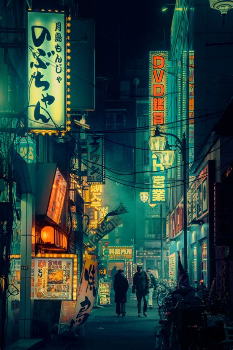 Aesthetic Jdm Iphone Wallpaper by More Neon Soaked Tokyo Photos From Liam Wong