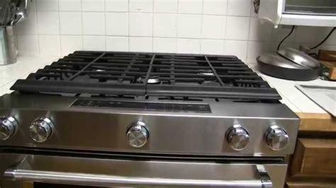 kitchenaid  cu ft gas range  convection oven