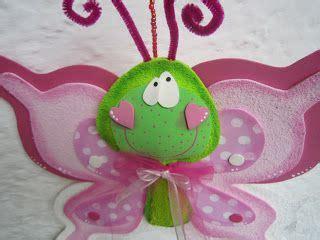 mis cositas en goma mariposas grandes colgar con sus moldes foamy pinterest