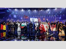 Eurovision 2017 Semifinal 2 The 10 songs qualified for