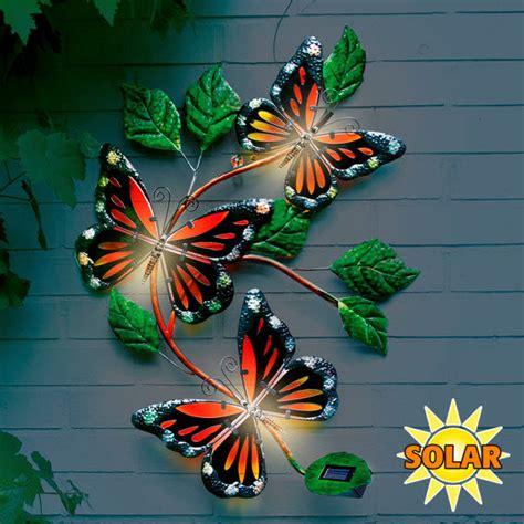 Wanddeko Für Draußen wanddeko solarleuchte schmetterling kaufen bei