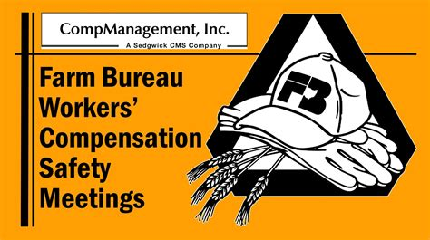 safety bureau workers 39 compensation safety meetings ohio farm bureau