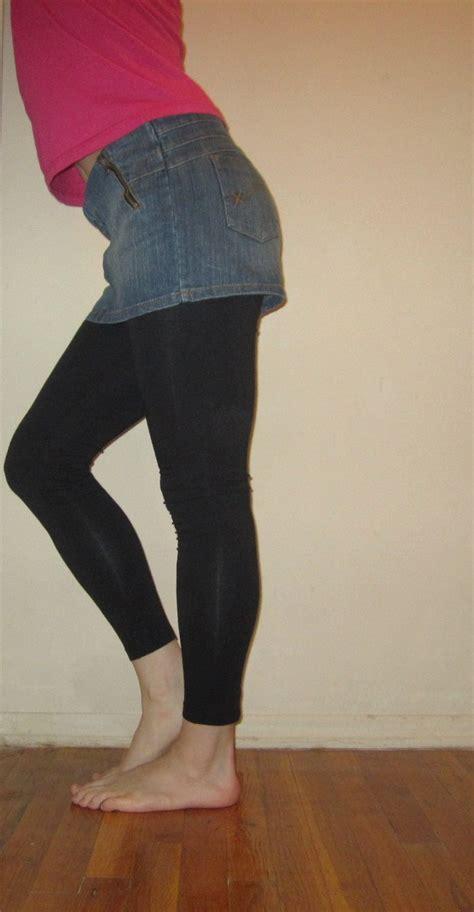 Jean Skirt And Leggings - Free Hd Tube Porn