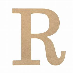 10quot decorative wood letter r ab2042 mardigrasoutletcom With decorative letter r for wall