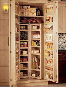 Framed Chef's Pantry Wood-Mode Fine Custom Cabinetry