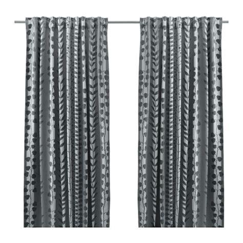 gunni block out curtains 1 pair ikea