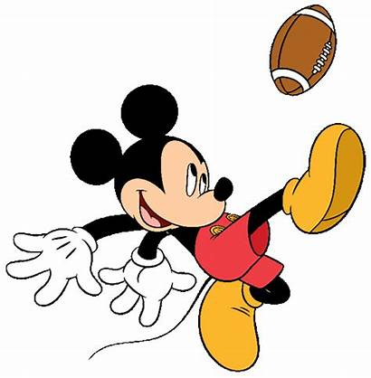 Mickey Mouse Clip Clipart Football Disney Sports