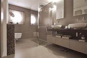 Badezimmer Fliesen Design : interessant badezimmer wand zum badezimmer fliesen taupe ~ Indierocktalk.com Haus und Dekorationen