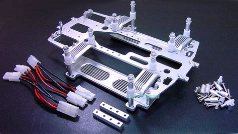 promo si鑒e auto aluminum chassis battery with heat sink fit traxxas e maxx e maxx 3906 ebay