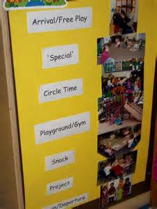 Preschool Visual Daily Schedule