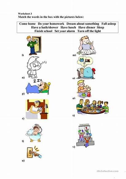Daily Worksheet Bean Mr Routines Worksheets Activities