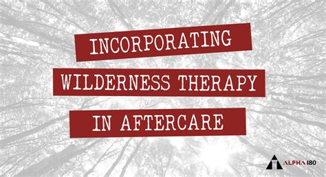 therapy wilderness