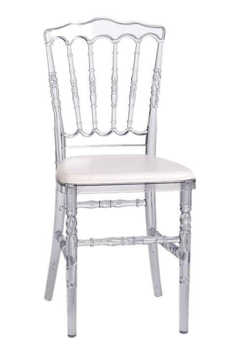 chaise napoleon transparente chaise napoléon transparente polycarbonate cpl 002 one
