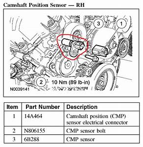 Service Manual  2005 Ford Expedition No Start New Cam Sensors Youtube
