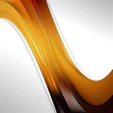 Abstract Wave Black And Orange Background by Abstract Orange And Black Wave Business Background