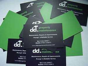 Dd property maintenance business cards this is part of a for Property maintenance business cards