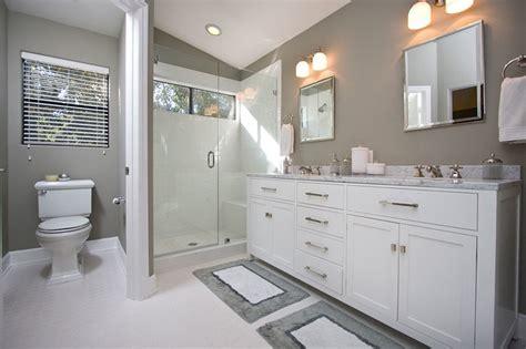 white and gray bathroom ideas contemporary gray white bathroom remodel contemporary