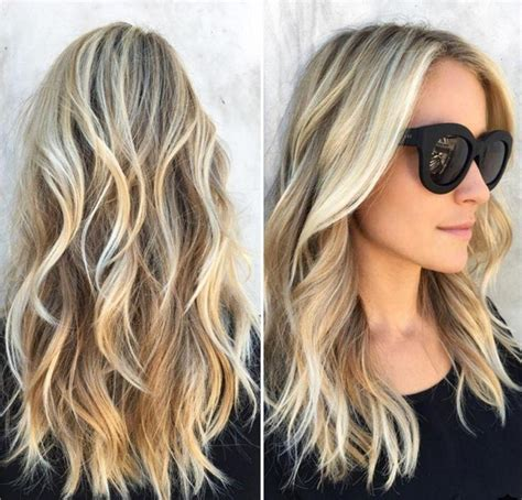 photo  long hairstyles beach waves