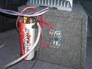 Car Audio Subwoofer Capacitor