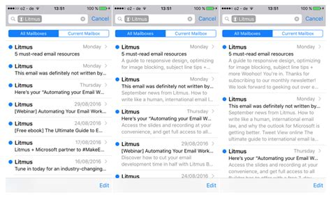 search email on iphone 9 things you need to about email in ios 10 litmus
