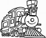 Train Coloring Cartoon Engine Locomotive Drawing Thomas Trains Steam Tank Diesel Clipartmag Printable Wecoloringpage Outline Getcolorings Sketch Logan Template sketch template