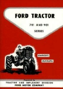ford tractor  owners manual   ebay