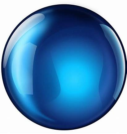 Sphere Round Glossy Clipart Esfera Transparent Earth