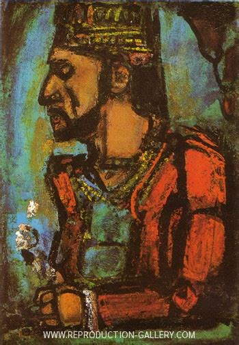 king  painting  george rouault