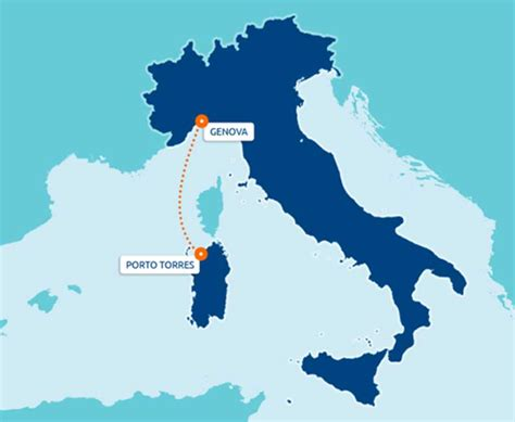 Porto Torres Genova by Traghetti Sardegna