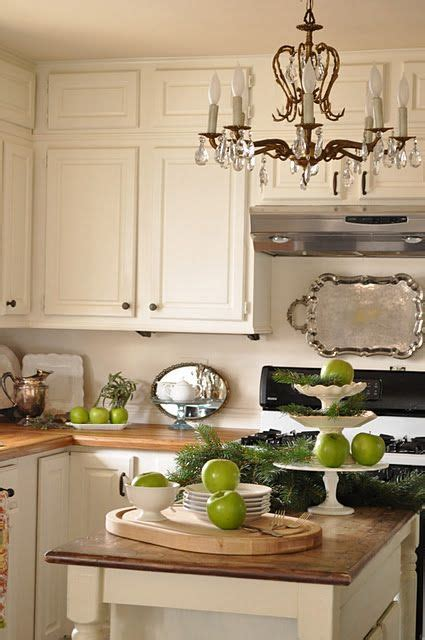 cream kitchen silver tray  art chandelier kitchen island decor beautiful kitchens tray decor