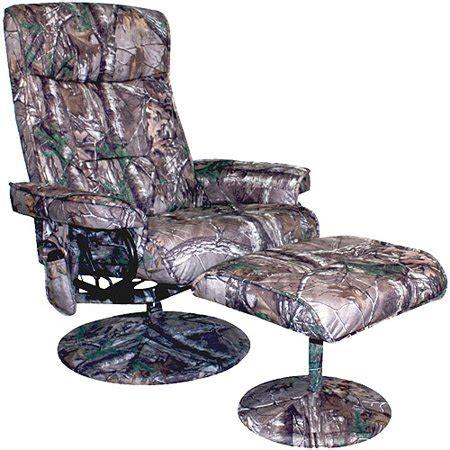 walmart camo recliner relaxzen realtree camouflage 8 motor recliner with