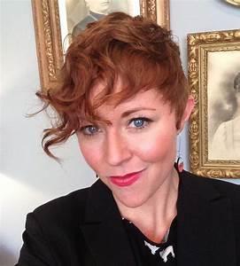 Coupe Courte Frisée Femme : coupe de cheveux courte rousse ~ Melissatoandfro.com Idées de Décoration