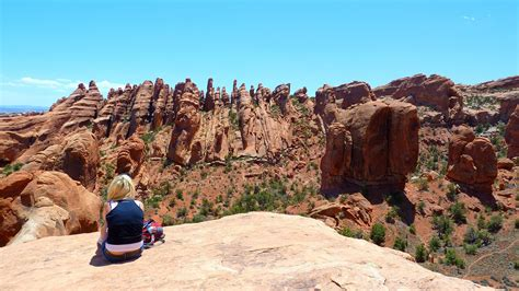 Arches National Park Loop Trail Hiking Primitive