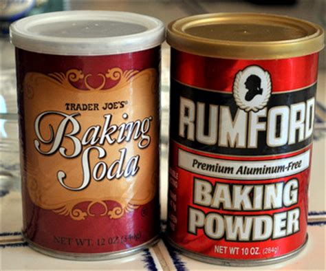 what is baking powder what is the difference between baking powder and baking soda baking bites