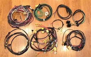 1956 Chevy Wire Harness Kit 4 Door Sedan With Generator