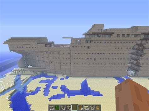 Minecraft Titanic Sinking Map by Minecraft Titanic Wreck V 2 0 Maps Mod F 252 R Minecraft