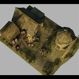 Medieval Windmill 3D Models Dante78