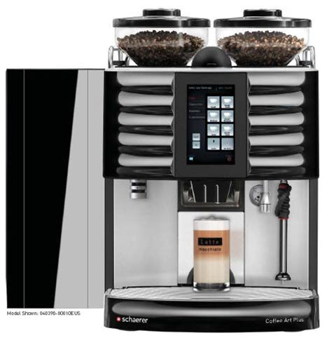 schaerer coffee schaerer coffee touch it 1 step espresso machine espresso planet canada