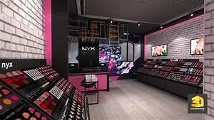 Magasin De Décoration Paris : agencement magasins nyx et d coration d int rieur 3dgraphiste fr ~ Preciouscoupons.com Idées de Décoration