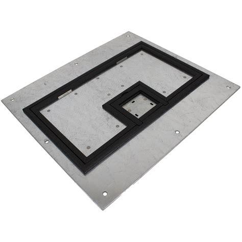 Fsr Floor Boxes Fl 600p by Fsr Fl 600p Plp Blk C Cover W 1 4 Quot Painted Black Carpet