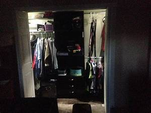 installing battery powered led wireless closet lights with With wise ideas for installing closet light fixtures